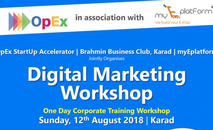Digital Marketing Workshop – KARAD